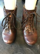 Women's Pikolinos Brown Leather Ankle Boots Size 36