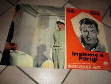 Insieme a Parigi,A.Hepburn,W.Holden.Dietrich,FOTOBUSTA