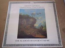 Hogwood STAMITZ Clarinet Concerto, 3 Symphonies - L'Oiseau-Lyre DSLO 505 SEALED
