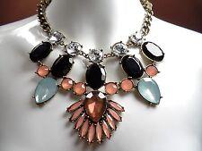 BaubleBar DRAMA Rhinestone CRYSTAL Nordstrom Necklace Jewelry Clearance SALE Bib