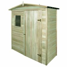 vidaXL Garden Storage Shed FSC Impregnated Pinewood 200x100x210cm Timber Cabin