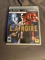 L.A. Noire (Sony PlayStation 3, 2011) - Complete With Manual - Used