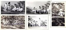 WWII Hawaii USO Camp Show Dancers Roller Skater Dog Acts US Navy Army GIs Photos