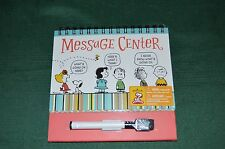 Snoopy & Peanuts gang hallmark message center with marker New in wrap RETIRED