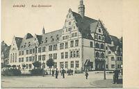 """D KOBLENZ 1910 ungebr. s/w AK """"Real-Gymnasium"""", selten"""