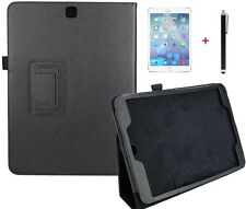 Case para Samsung Galaxy Tab s2 9.7 t810 t815 bolso funda protectora cuero artificial negro
