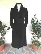 MARINA RINALDI By MAX  MARA cappotto nero / coat black  New!  MR 17/ 46 IT