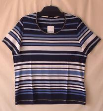 Samoon Shirt Gerry Weber Streifenshirt Viskosestretch Neu Damen Gr.44