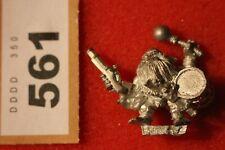 WARHAMMER lunga drong Nano Slayer Musicista Pirati Figura Metallo NANI fuori catalogo