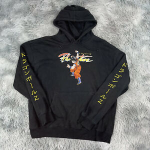 PRIMITIVE Skateboarding x Dragon Ball Z Goku Super Saiyan Black hoodie XL