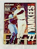 "1977 NEW YORK YANKEES YEARBOOK ""THE 1927 YANKEES"" GREATEST TEAM IN BASEBALL"
