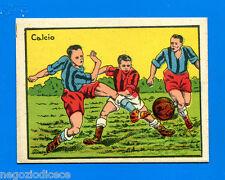 A034 FIGURINA CARTONATA -Anni 50??- Figurina-Sticker - CALCIO -New