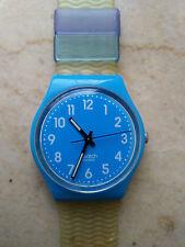 """orologio swatch STANDARD GENT modello """"RISE UP""""GS 138 anno 2012 SEMINUOVO RARO"""