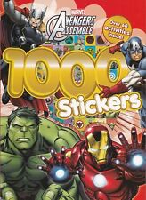 Marvel Avengers Assemble 1000 Stickers: Over 60 activities inside! by Parragon Books Ltd (Paperback, 2016)