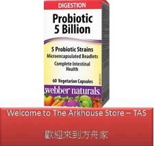 60 C Complete Probiotic Multi Strain 5 billion active cells - Webber Naturals