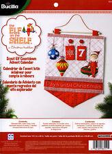 Bucilla Elf On The Shelf ~ Felt Christmas Countdown Advent Calendar Kit #86551