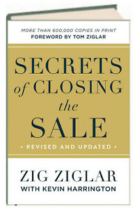 Secrets of Closing the Sale by Zig Ziglar (Hardcover) New with rm*