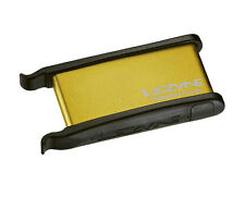 Lezyne Lever Patch Kit - Bike Puncture Repair Kit - Gold