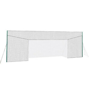 Open Goaaal JX-OGFL2 Soccer Practice Net Rebounder Backstop with Goal, Large