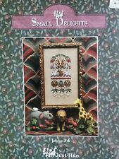 Just Nan Cross Stitch Pattern JN053 Joyous Arc, Small Delights