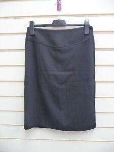 Kaleidoscope Women's Black Skirt Size 12 Pencil Tailored Smart   G005