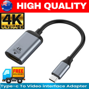 4K Type C to HDMI Adapter 30Hz USB C 3.1 Male to HDMI Female Cable FOR ipad