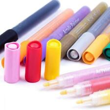 MEEDEN Acrylic Paint Markers 12 Colors Medium Tip Pens for Glass Rocks...