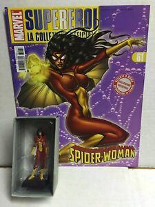 Eaglemoss Classic Marvel Figurine Collection N. 61 SPIDER-WOMAN MIB, 2008