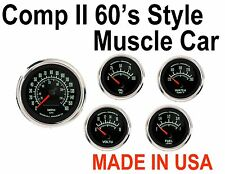 MARSHALL Comp II 2 Sport LED 5-Gauge Automotive Meter 60s Muscle Car Instruments