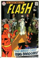 Flash #194 VF High Grade Old Bronze Age DC Comic 1970 Bride casts two shadows