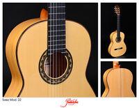 Flamenca Guitarra Saez 22 Tapa de Abeto & Cuerpo de Ciprés Maciza/Expositor