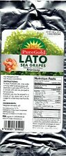 PG PureGold LATO Sea Grapes Seaweed