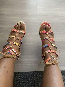 Ashley Stewart Wedge Heels Women's Size 12W