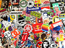 100 STICKER PACK SKATEBOARDING STUNT SCOOTER MOTOCROSS QUAD LAPTOP DECAL