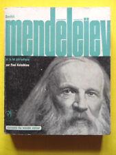 Paul Kolodkine Dmitri Mendéléïev Editions Seghers 1963 Collection Savants