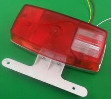 Micro Flex RV Tail Light Complete With License Plate Mount Acutek TL340 0300
