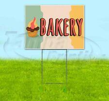 Bakery 18x24 Yard Sign Corrugated Plastic Bandit Lawn Usa