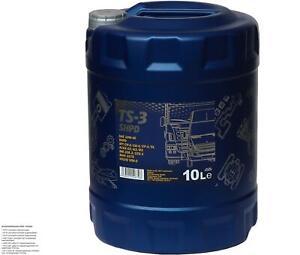 10 Litre Original MANNOL huile moteur TS-3 Shpd 10W-40 Api CH-4/CG-4/CF-4/ Sl