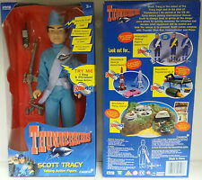 THUNDERBIRDS : SCOTT TRACY BOXED ACTION FIGURE MADE IN 1999 (XP)