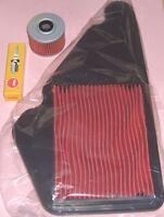 Plug Air & Oil filter for HONDA FMX FX SLR FMX650  FX650  & SLR650 Vigor