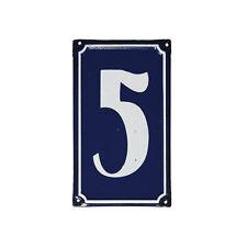 dotcomgiftshop 5 FRENCH BLUE METAL DOOR SIGN