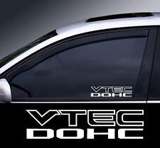 2 x Vtec Window Decal Sticker Graphic *Colour Choice*(2)