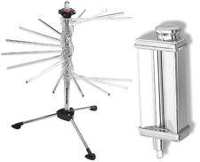 KitchenAid Pasta Roller maker KPSA Stainless Steel Attachment +Kpdr Steel Rack