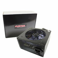 700W Gaming 120MM Blue LED Fan Guard Grill Silent ATX Power Supply PSU 12V New