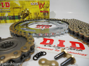 DUCATI ST4s  ABS SPORT TOURING  DID Gold X Ring CHAIN AND SPROCKET KIT