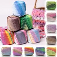50g Soft Cotton Crochet Thread Yarn Craft DIY Hand Knitting Yarn For Scarf
