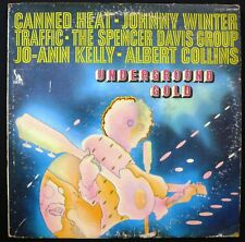 Underground Gold - LST-7625 - Canned Heat, Johnny Winter, Traffic, plus more