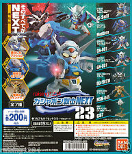 BANDAI SD Gundam Next 23 Gashapon Figure Set of 7 Exia Susanowo G-self