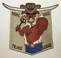OA Lodge 72 Tejas Texas Flap 2002 NOAC   Mint BC1