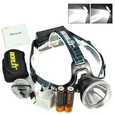 BORUiT B10 Xm-l2 LED Headlamp 3 Modes Headlight Fishing Head Torch Lamp 2x18650